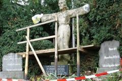 Restaurierung der Christuststatue - Foto: Ilse Mohr