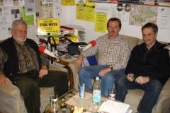 Bei Radio Merten, Foto: Otto Ganser