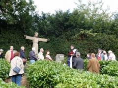 Gedenkfeier zur Einsegnung der Christusstatue im Oktober 1945  04.10.2015, Foto: Bernd Süring