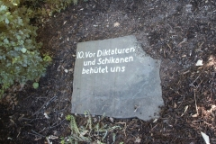 Gebotsstein 10 (1978) - Foto: Robert Metternich