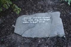 Diese Steine reden für alle... - Foto: Robert Metternich
