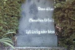 Aller Menschen Urteil... - Foto: Robert Metternich